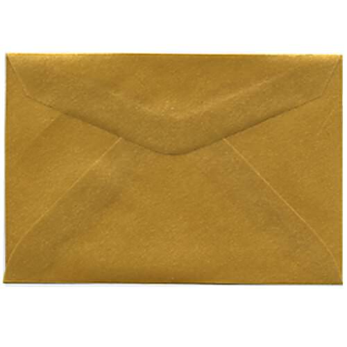 Gold 3drug Envelopes - 2 5/16 x 3 5/8