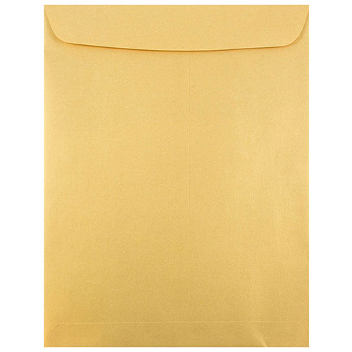 Gold 10 x 13 Envelopes
