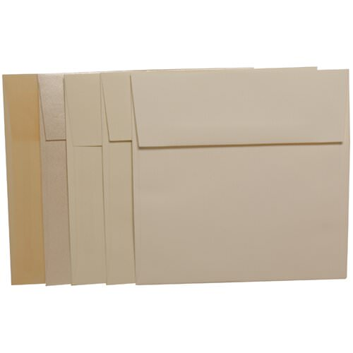 Ivory 6 x 6 Square Envelopes