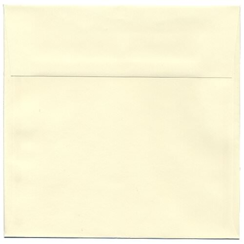 Ivory 7 1/2 x 7 1/2 Square Envelopes