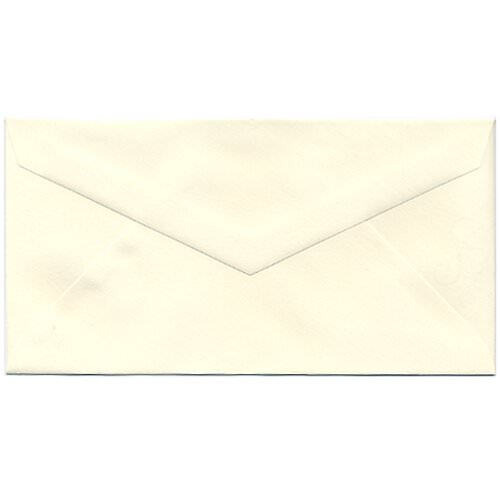 Ivory Monarch Envelopes - 3 7/8 x 7 1/2