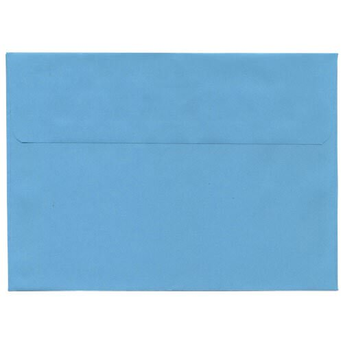 Blue 5 7/8 x 8 1/4 Envelopes