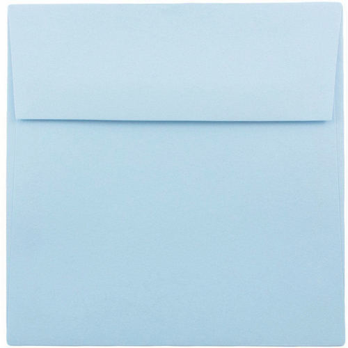 Blue 6 1/2 x 6 1/2 Square Envelopes