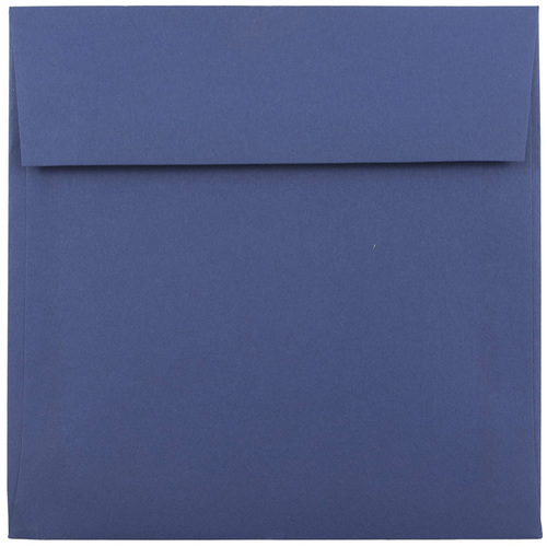 Blue 8 x 8 Square Envelopes