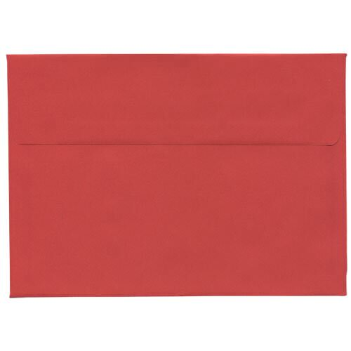Red 5 7/8 x 8 1/4 Envelopes
