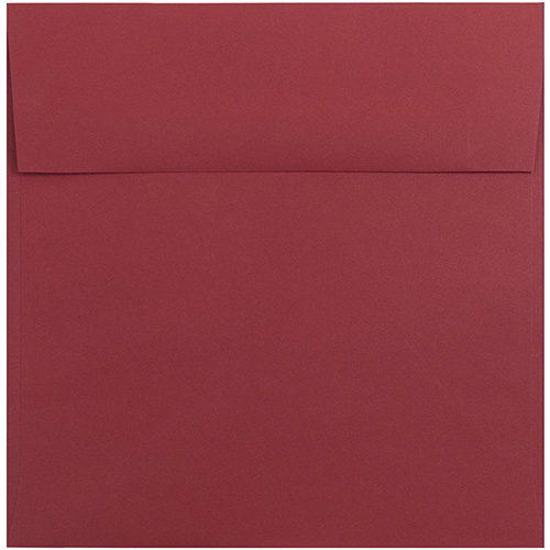 Red 8 1/2 x 8 1/2 Square Envelopes