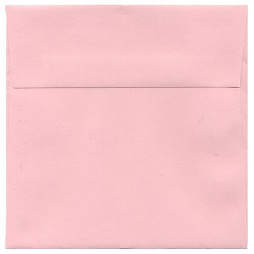 Pink 5 1/2 x 5 1/2 Square Envelopes