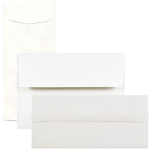 White Strathmore Envelopes & Paper