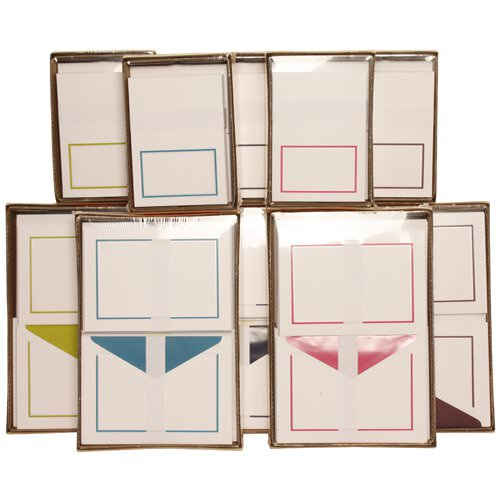 Colorful Border Stationery Sets