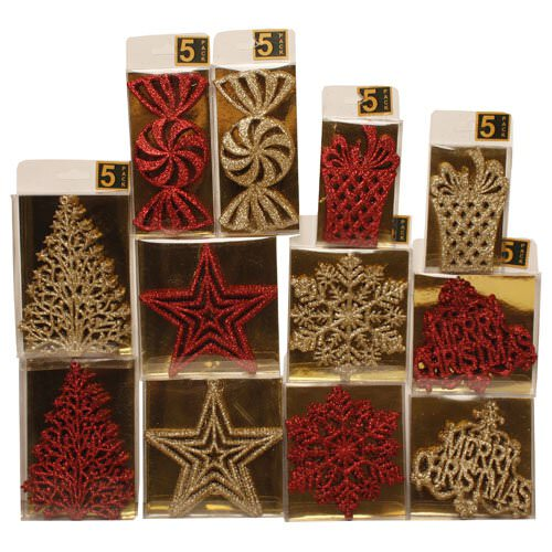 Holiday Gift Wrapping Embellishments