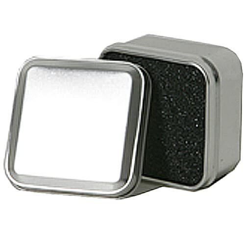 Silver Metallic Ring Tins