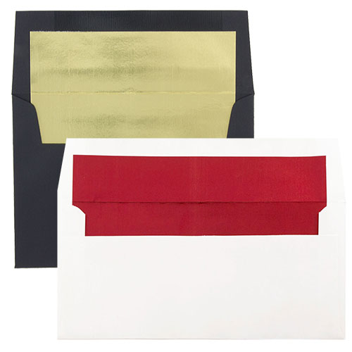 Envelopes with Foil Lining
