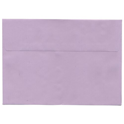 Purple 5 7/8 x 8 1/4 Envelopes