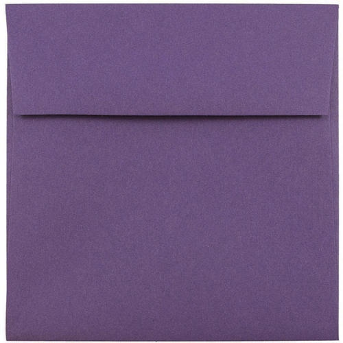 Purple 7 1/2 x 7 1/2 Square Envelopes