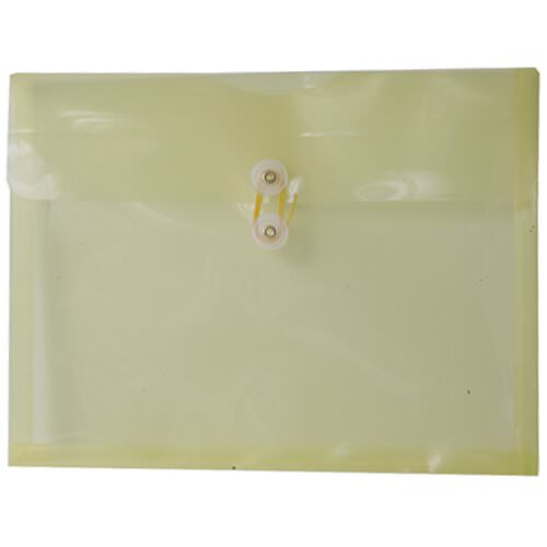 Yellow Letter Booklet Plastic Envelopes - 9.75x13