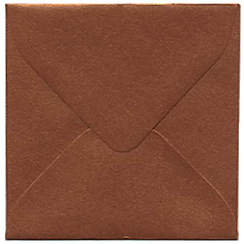 Orange 3 1/8 x 3 1/8 Square Envelopes