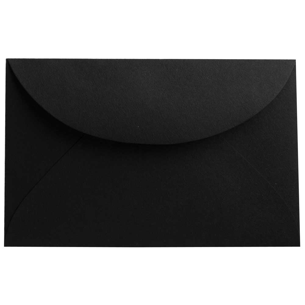 Black 3drug Envelopes - 2 5/16 x 3 5/8