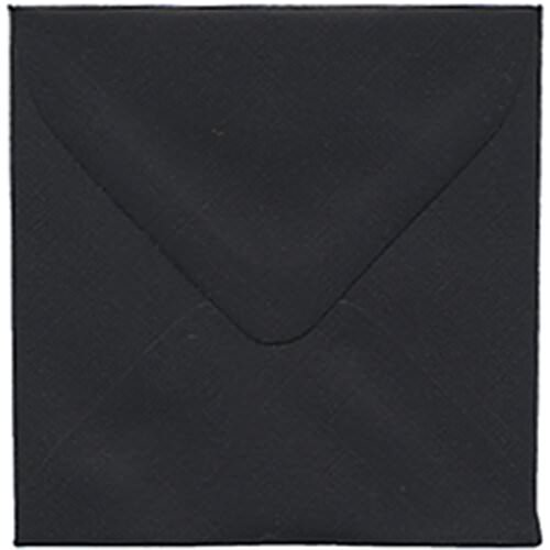Black 3 1/8 x 3 1/8 Square Envelopes