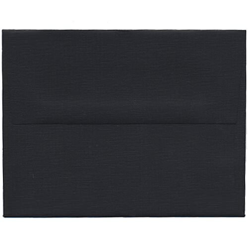 Black A2 Envelopes - 4 3/8 x 5 3/4