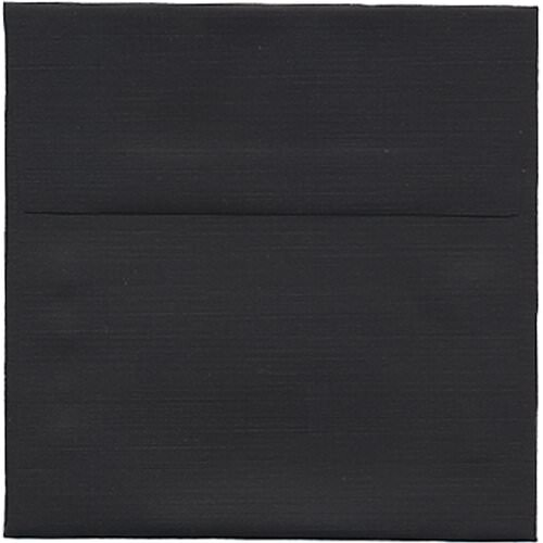 Black 5 x 5 Square Envelopes
