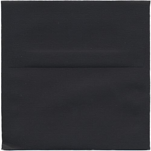 Black 5 1/2 x 5 1/2 Square Envelopes