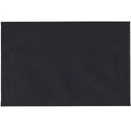 Black A9 Envelopes - 5 3/4 x 8 3/4