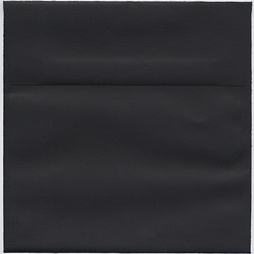 Black 6 x 6 Square Envelopes