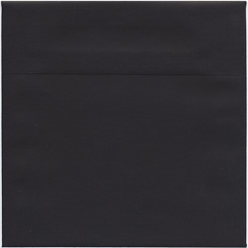 Black 7 1/2 x 7 1/2 Square Envelopes