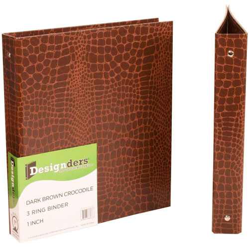 Crocodile 1 Inch Binders