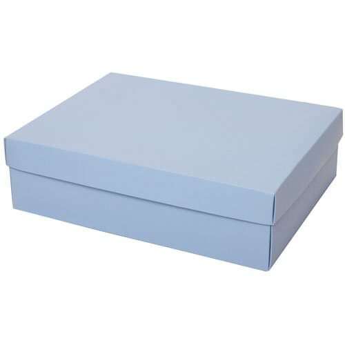 10 x 13 x 3.5 Baby Blue Two Piece Gift Box