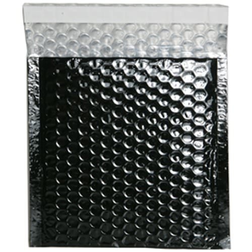 Black 6 x 6 1/2 Envelopes
