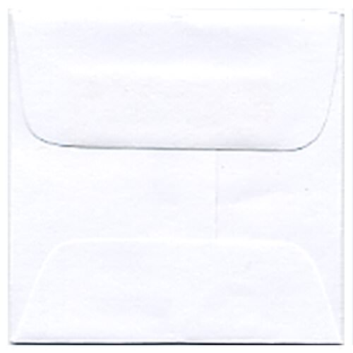 White 2 3/8 x 2 3/8 Square Envelopes