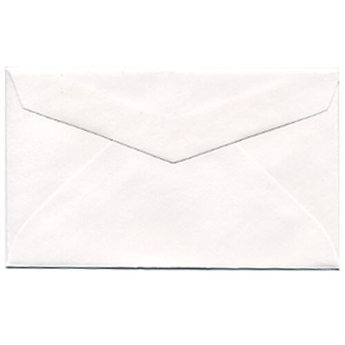 White 2Pay #3 Coin Envelopes - 2 1/2 x 4 1/4