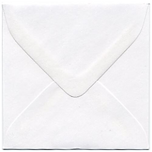White 3 1/8 x 3 1/8 Square Envelopes