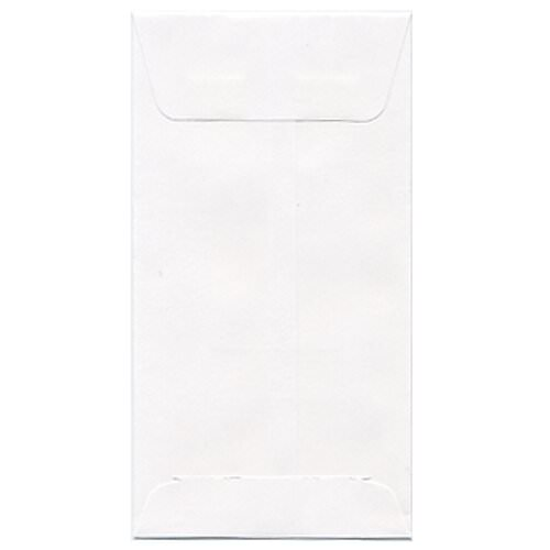 White 1 Scarf Envelopes - 4 5/8 x 6 3/4