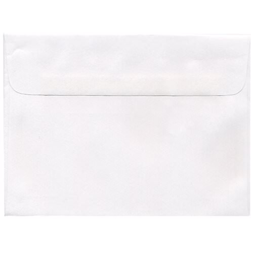 White 5 1/2 x 7 1/2 Envelopes