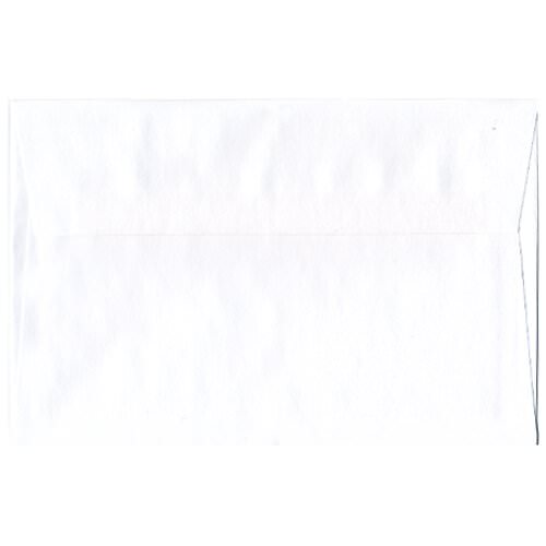 White 5 3/4 x 8 7/8 Envelopes