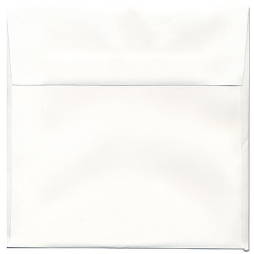 White 8 1/2 x 8 1/2 Square Envelopes