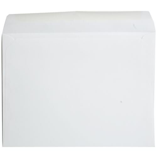 White 9 1/2 x 12 5/8 Envelopes