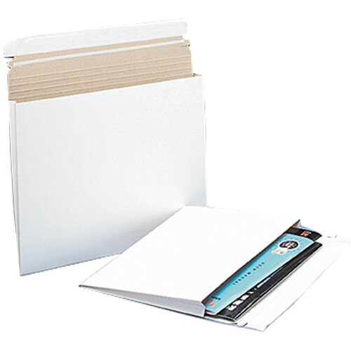 White 12 1/2 x 15 Envelopes
