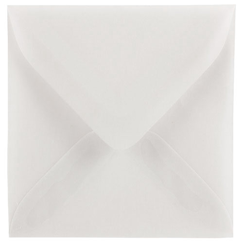 Clear 3 1/8 x 3 1/8 Square Envelopes