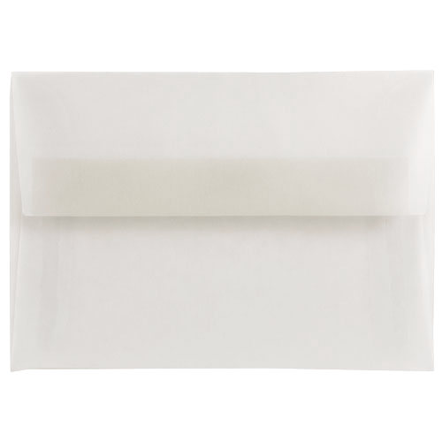 Clear A2 Envelopes - 4 3/8 x 5 3/4