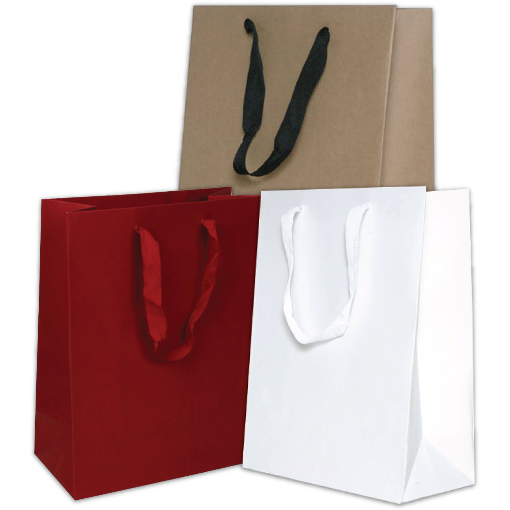 Heavy Duty Matte Recycled Kraft Bags