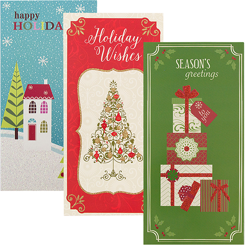 Holiday Money Cards with Envelopes