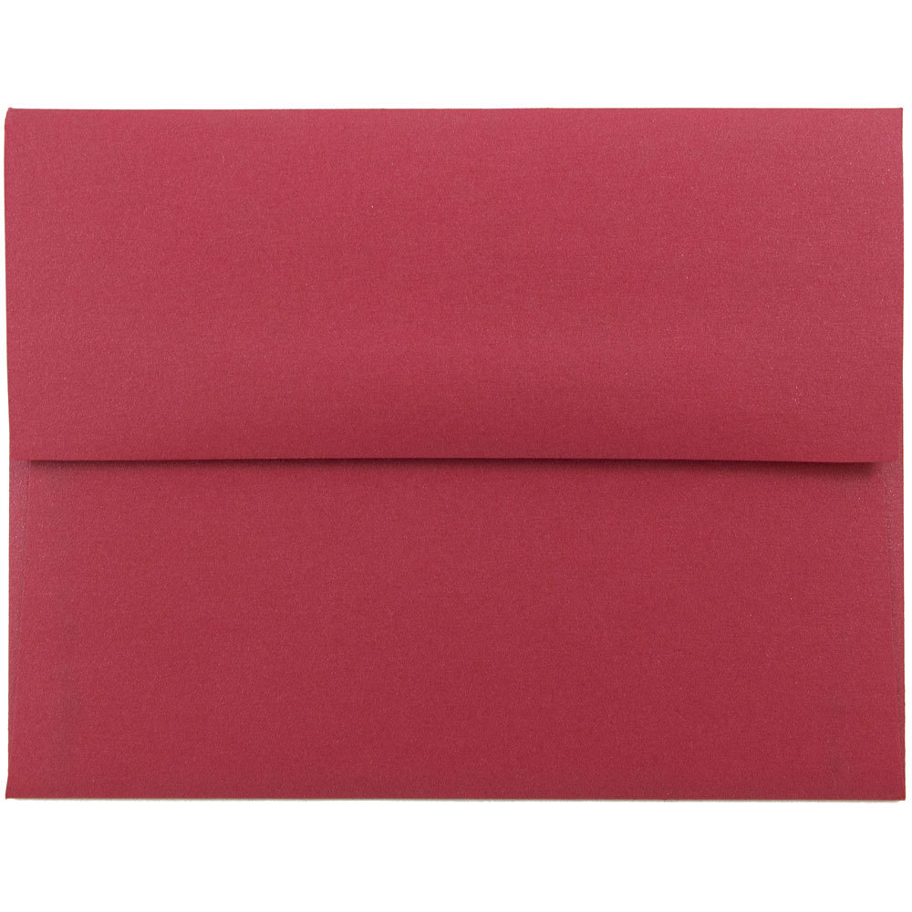 red a2 envelopes at jam paper 4 3 8 x 5 3 4 jam paper