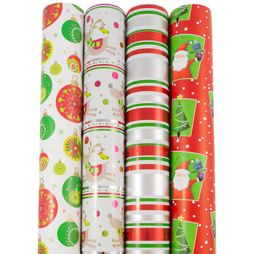 christmas wrapping paper sets jam paper