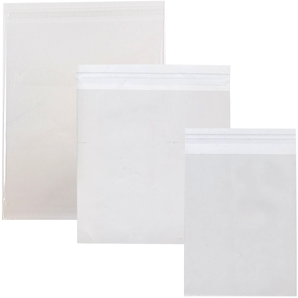 Clear Cello Sleeves Jam Paper