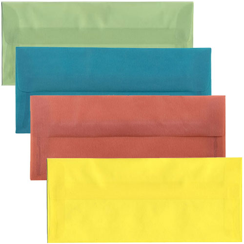 #10 Translucent Closeout Envelopes