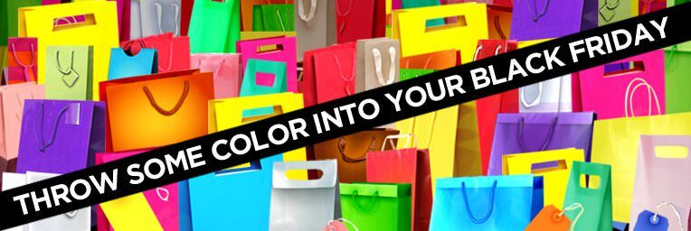 Throw Some Color Into Your Black Friday - Diagonal