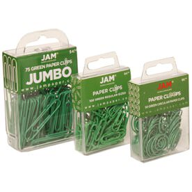 Green Paperclips